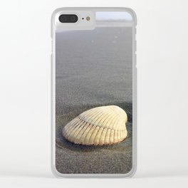 Shell Game Clear iPhone Case