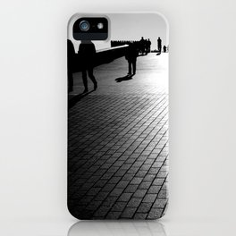 Pedestrian Shadows iPhone Case