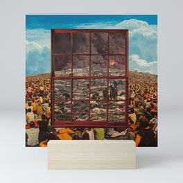 Glimpse into the future Mini Art Print