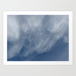 Melbourne Sky 08/06/2017 12:18:00pm 38/145 Art Print