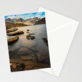 Ogwen Lake Snowdonia Stationery Cards