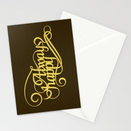 Stay Happy Stationery Cards