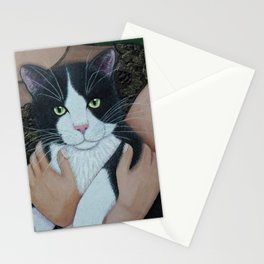My cat friend Stationery Cards