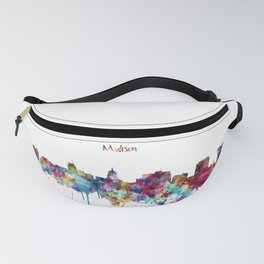 Madison Skyline Silhouette Fanny Pack