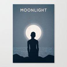 Moonlight Alternative Poster Canvas Print