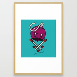 Bomb Framed Art Print