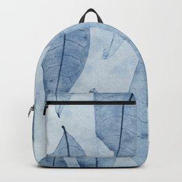 Botanical Pattern 2 (blue) Backpack