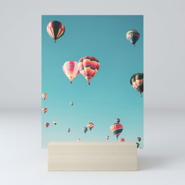 Hot Air Balloon Ride Mini Art Print