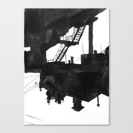 Railway VII Canvas Print