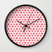 chic Wall Clocks featuring chic by VanyNany
