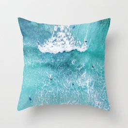 Surf Mood Throw Pillow
