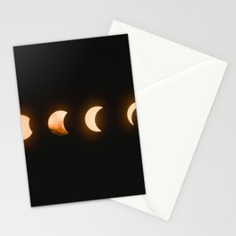 Moon Phases Stationery Cards