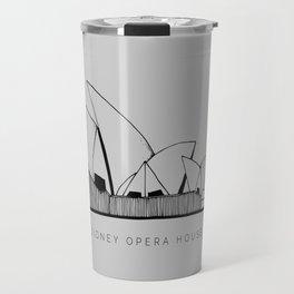 Sidney Opera House Travel Mug