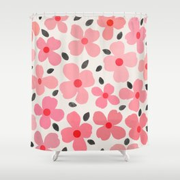 dogwood 8 Shower Curtain