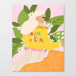 We are magical Canvas Print