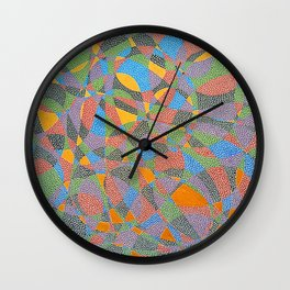 The Golden Touch Wall Clock
