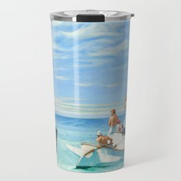 Ground Swell OIl Painting by Edward Hopper Travel Mug