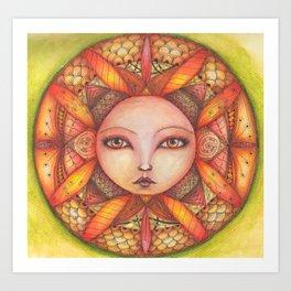 Fuoco - Fire Art Print