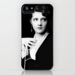 Ruby Keeler by Alfred Cheney Johnston iPhone Case