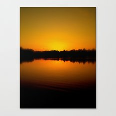 The Day is Over Canvas Print