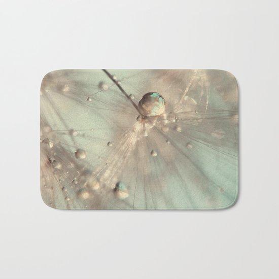 dandelion mint Bath Mat