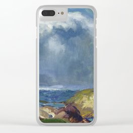 George Bellows - The Coming Storm, 1916 Clear iPhone Case