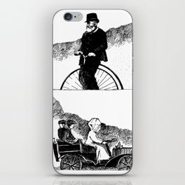 Bike And Pool It iPhone Skin