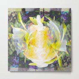 Mandacaru Flower Metal Print