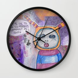 Different Is Good! Wall Clock