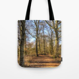 Spring Forest Path Tote Bag