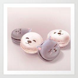 Macaron Art Print