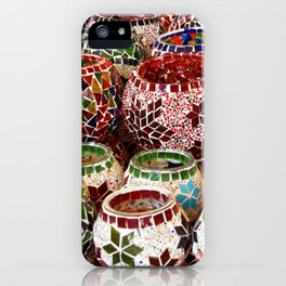 hand crafted clay pots iPhone Case