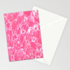 Pink Water Stationery Cards