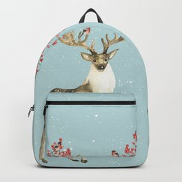 Deers With Birds #society6 #buyart Backpack