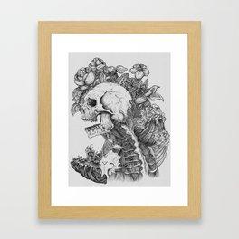 Everything with Skulls - 06 Framed Art Print