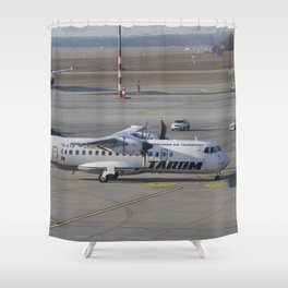 Tarom ATR 42-500 Shower Curtain