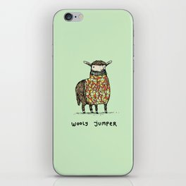 Wooly Jumper iPhone Skin