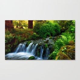 Fairytale forest fantasy Canvas Print