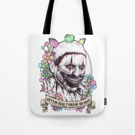 xoxo Twisty (color) Tote Bag