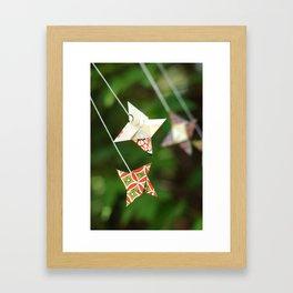 Bright Star inspired Framed Art Print