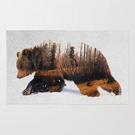 Travelling Bear Rug