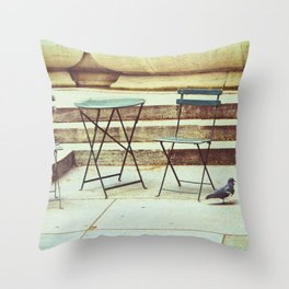 In Search Of Throw Pillow