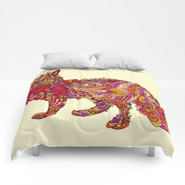Fox by Day Comforters