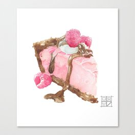Cake Canvas Print