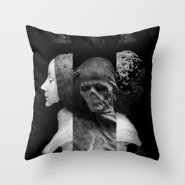 The Devil Woke In His Heart With A Thousand Vile Suggestions Throw Pillow