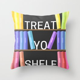 Treat Yo Shelf Throw Pillow