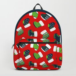 Christmas Boots! Backpack