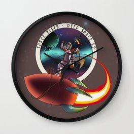 Space Vixen - Wild Ride Wall Clock