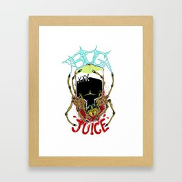 Spiders Drink Bugjuice Framed Art Print