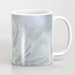 pine needles in blurry green shades Coffee Mug